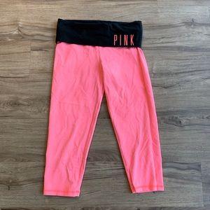 PINK Yoga Legging Pant Cropped